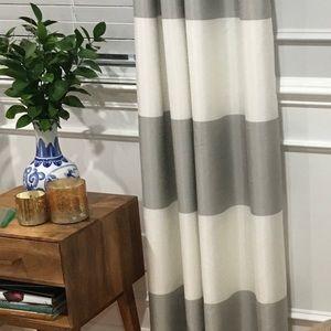 Threshold Stripe Grommet Curtains (8 panels)